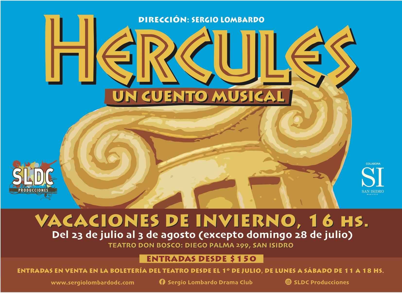 Photo of Hércules, un cuento musical en San Isidro